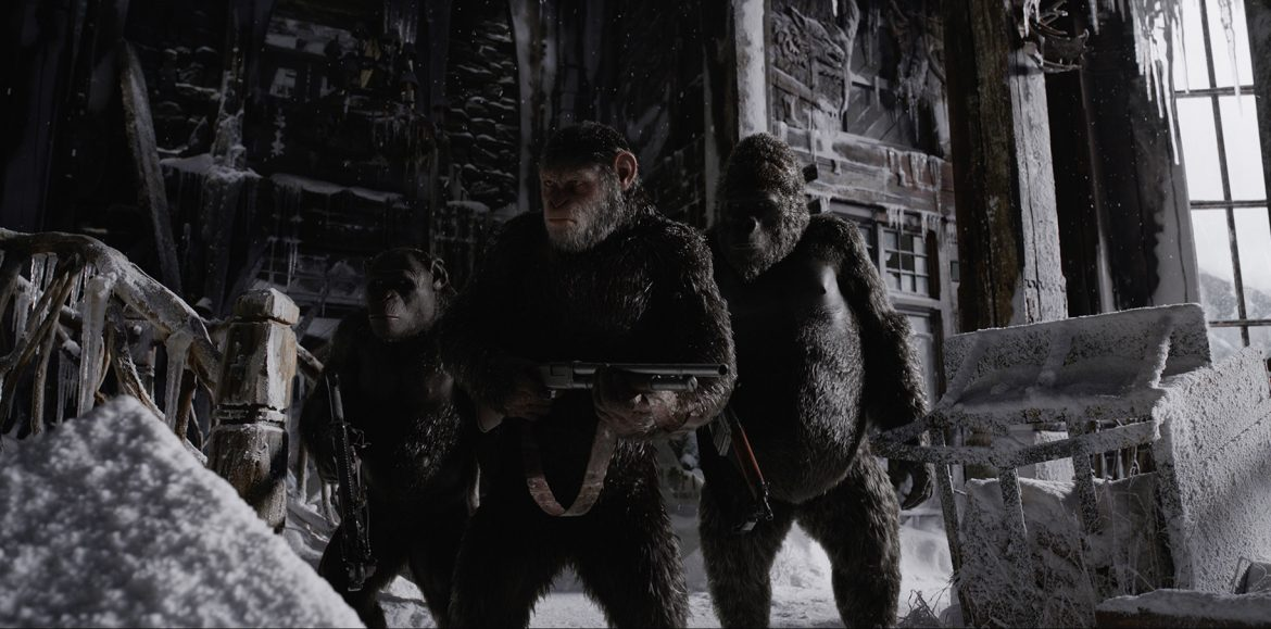 War for the Planet of the Apes trailer is here