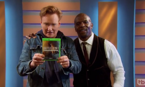 Conan's Clueless Gamer plays 'Battlefield 1' with Terry Crews