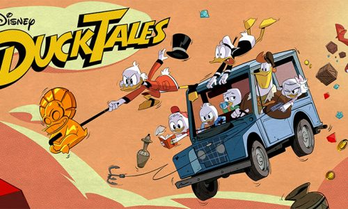 Watch David Tennant and the brand new cast of 'DuckTales' sing the theme song