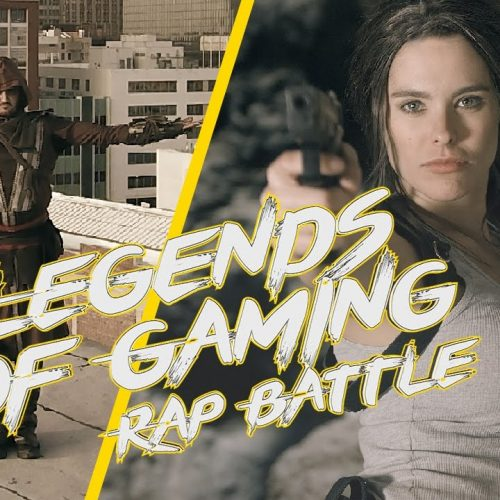 Assassin's Creed vs. Tomb Raider rap battle