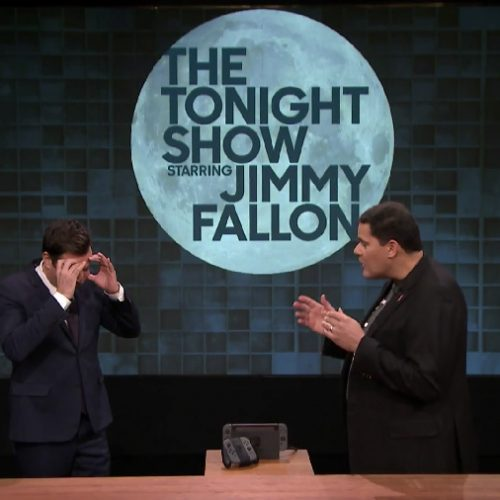 Nintendo surprises Jimmy Fallon with first chance to play Nintendo Switch