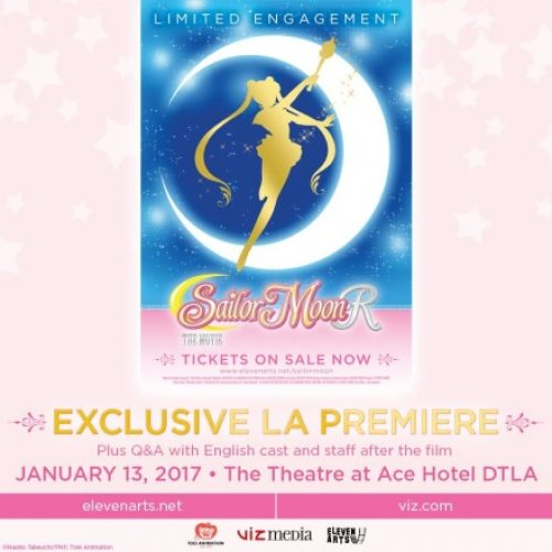 Sailor Moon R: The Movie premiere event on January 13