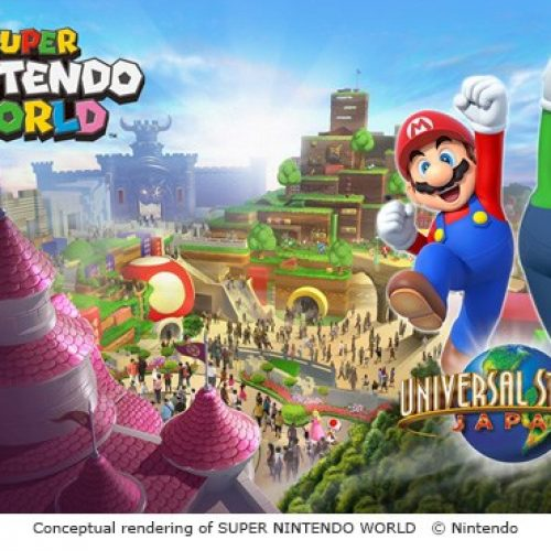 Universal Studios Japan reveals concept art for Nintendo Land