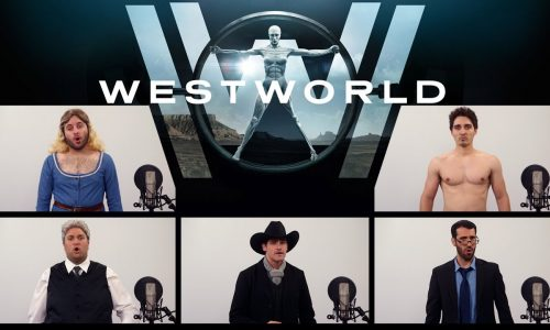 Listen to the a cappella version of the Westworld theme song