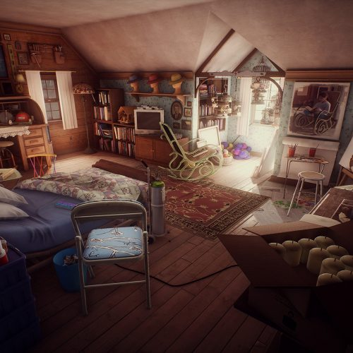 What Remains of Edith Finch, a first-person game where you're the last family member alive