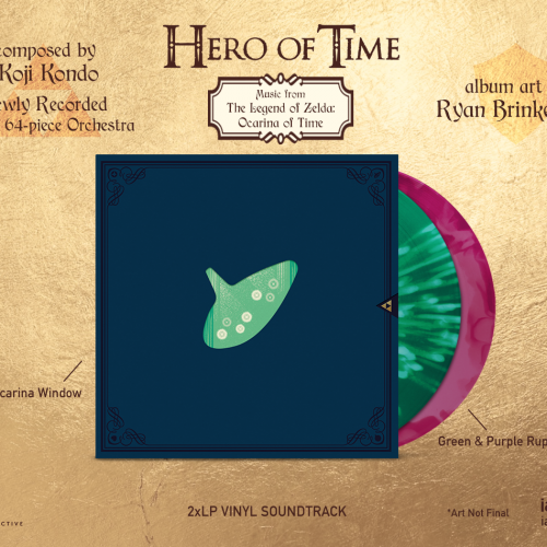 Ocarina of Time Soundtrack to be released on vinyl