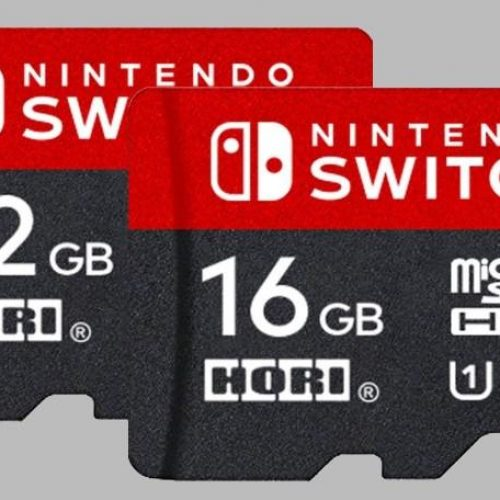 Nintendo Switch branded microSD cards are more expensive
