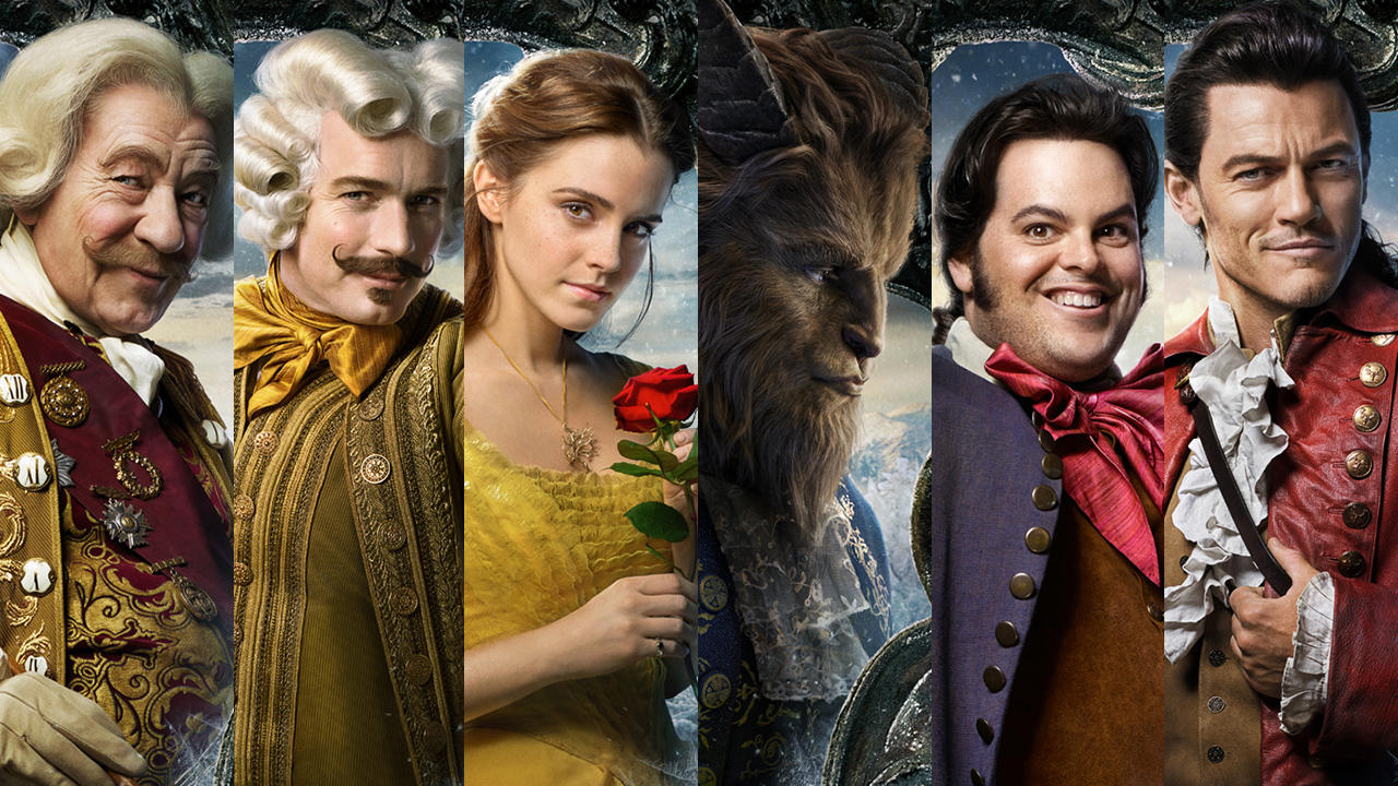 beauty and the beast character posters beauty and the beast gets  character posters for bus