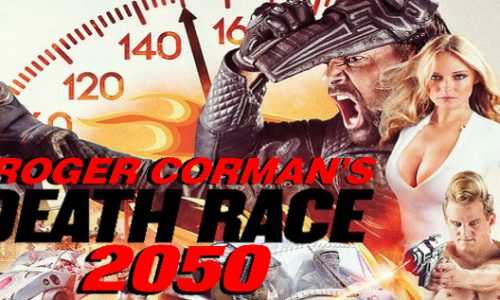 Death Race 2050 review, plus interviews with Roger Corman and Manu Bennett