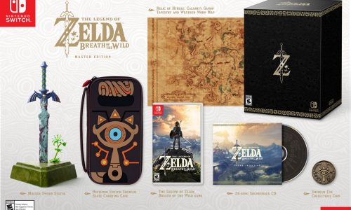 The Legend of Zelda: Breath of the Wild will be Switch launch title