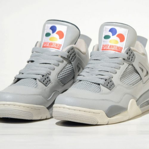 Move over Vans, these retro Super Nintendo sneakers are amazing