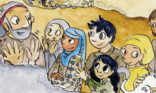 New Syrian comic book aimed at helping those in need