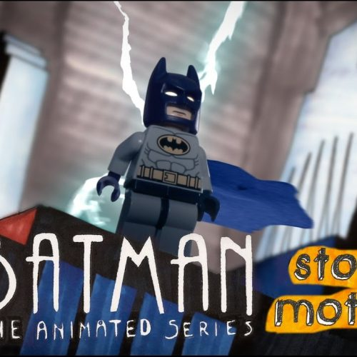 Batman LEGO stop-motion short captures '90s Batman cartoon opening