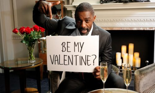 Idris Elba takes advice from kids for his Omaze date