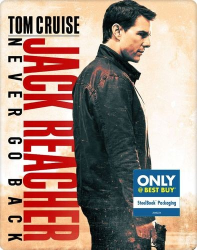 To offer readers the chance to win a jack reacher never go back best