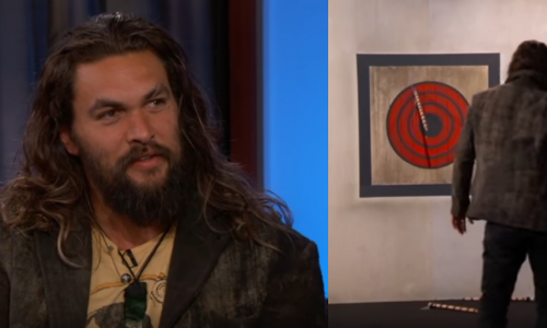 Jason Mamoa talks Aquaman and new show Frontier while throwing axes