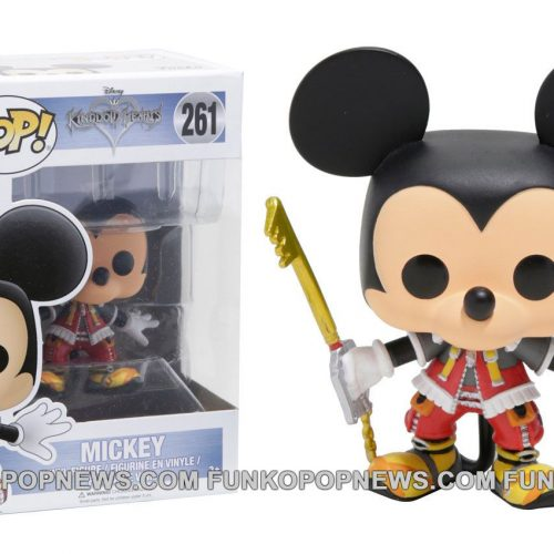 King Mickey, Donald and Goofy Kingdom Hearts Funko Pops are coming