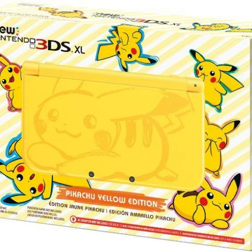 Cute Pikachu-themed New Nintendo 3DS XL coming in February