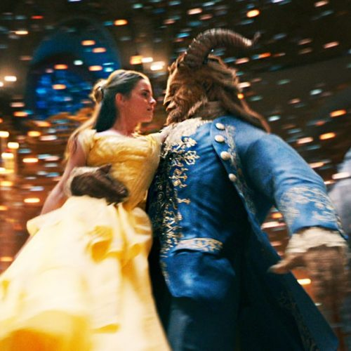 Emma Watson singing as Belle in Beauty and the Beast