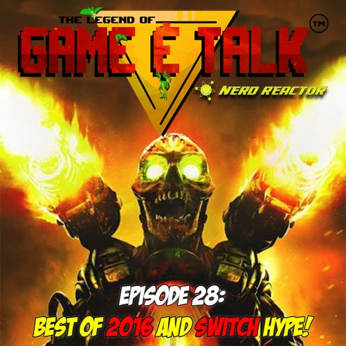 Check out our new gaming podcast Game & Talk!