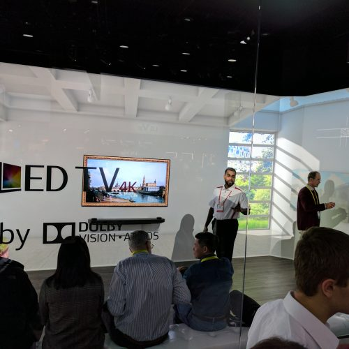CES 2017: LG W7 OLED TV may look invisible, but its presence was huge