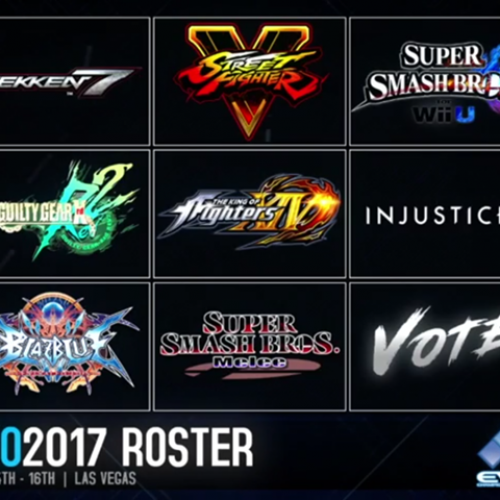 EVO 2017 to include Street Fighter V, King of Fighters XIV, Injustice 2, and Tekken 7