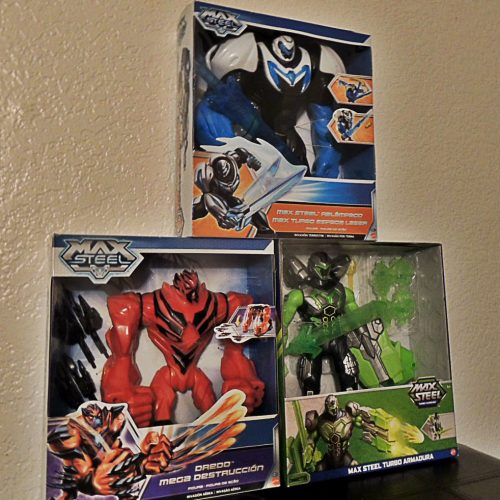 Win exclusive, limited edition Max Steel toys from Nerd Reactor
