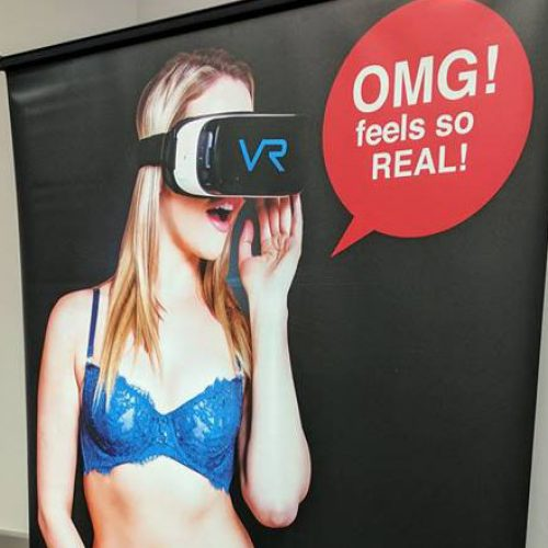 Naughty America VR turned me on in a packed room at CES