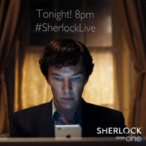 BBC One launches Sherlock mystery for Twitter fans to solve