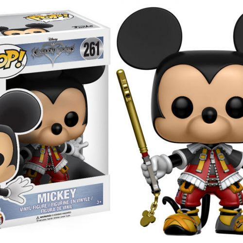 Kingdom Hearts Pop! Vinyl figures are coming in April