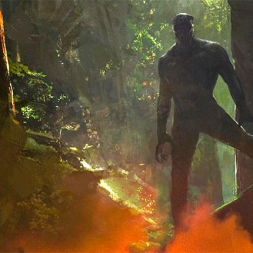 'Black Panther' concept art gives us our first look at Wakanda