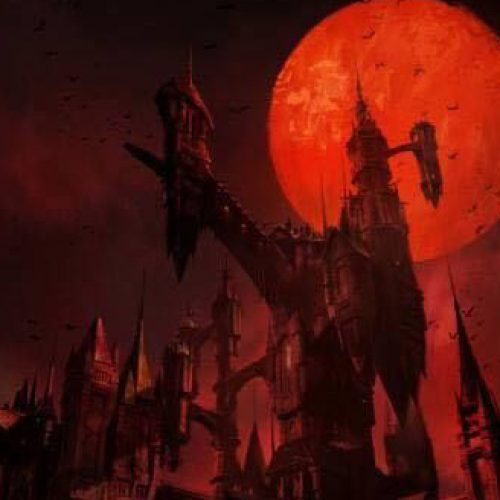Netflix's Castlevania poster shows Dracula's creepy castle