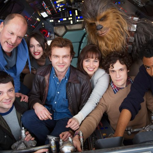 First Han Solo cast image released as the spinoff officially commences filming