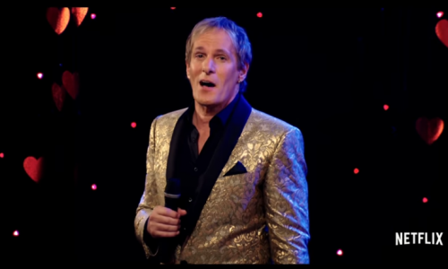 Spend this Valentine's Day with Michael Bolton on Netflix