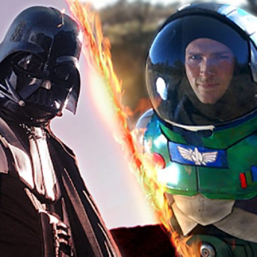 Buzz Lightyear battles Darth Vader in epic fan film
