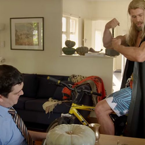Darryl, Thor, and Thor's muscles return in hilarious 'Team Thor: Part 2' preview
