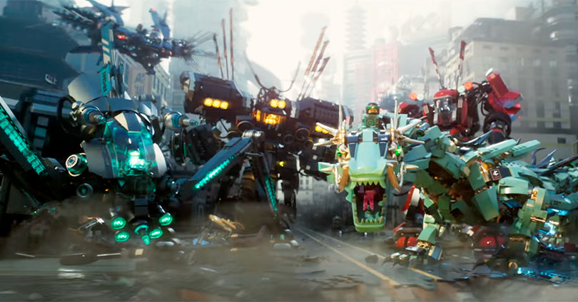 The LEGO Ninjago Movie - Trailer #1 Header