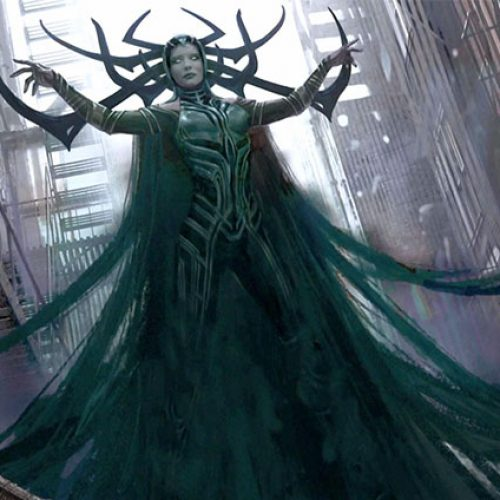 'Thor: Ragnarok' concept art gives us our first look at Hela and Gladiator Hulk
