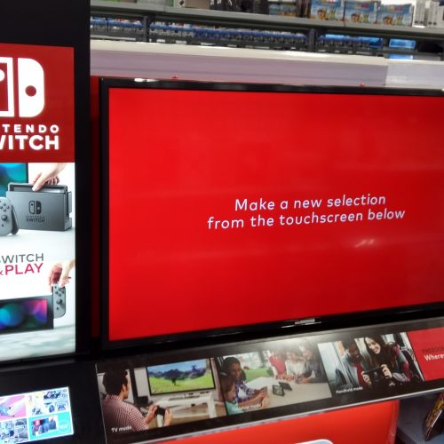 Best Buy makes room for Nintendo Switch