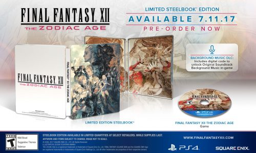 Square Enix reveals various Final Fantasy XII: The Zodiac Age special editions
