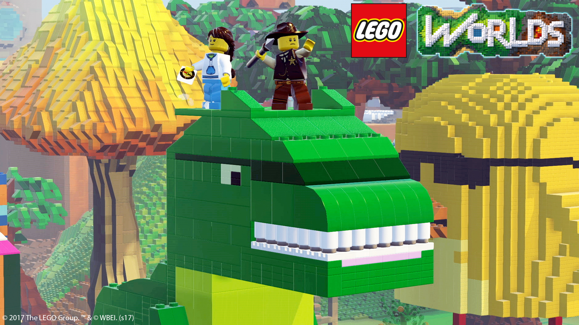 lego worlds now available on ps4 xbox one and pc nerd. Black Bedroom Furniture Sets. Home Design Ideas