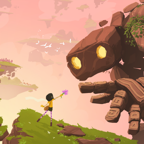Lola and the Giant, an adventure within a Daydream