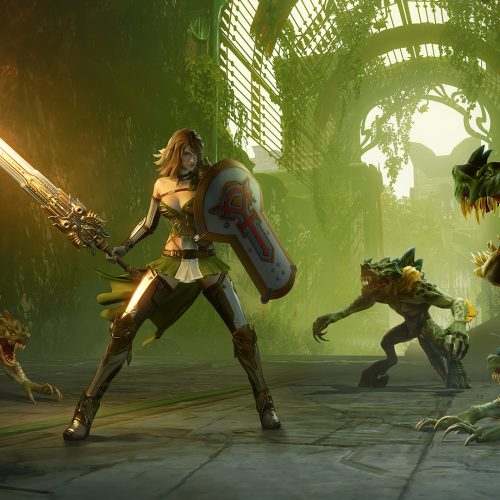 Action MMORPG Skyforge headed to PS4 Spring 2017