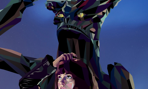 Colossal's new poster will leave you scratching your head… in a good way