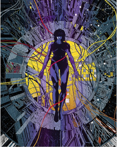 Ghost In The Shell Blu Ray Giveaway Nerd Reactor