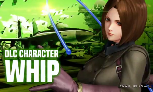 Whip confirmed as first DLC character in King of Fighters XIV