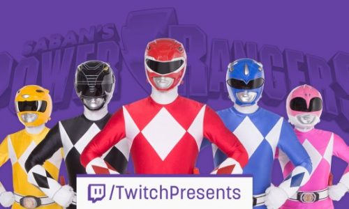 Twitch to stream all 23 seasons of the Power Rangers starting March 14