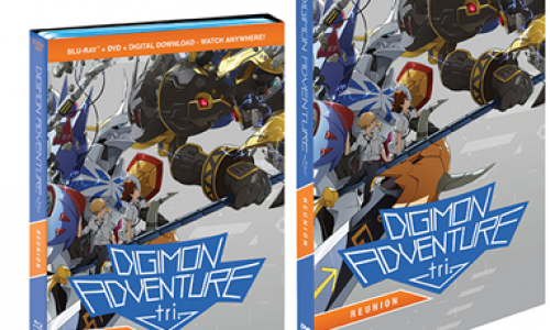 Digimon Adventure Tri. – Reunion arrives on Blu-Ray and DVD on May 16