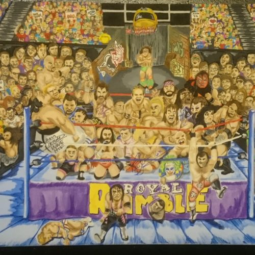 WWE Slam Crate takes over Meltdown Comics for special WWE gallery