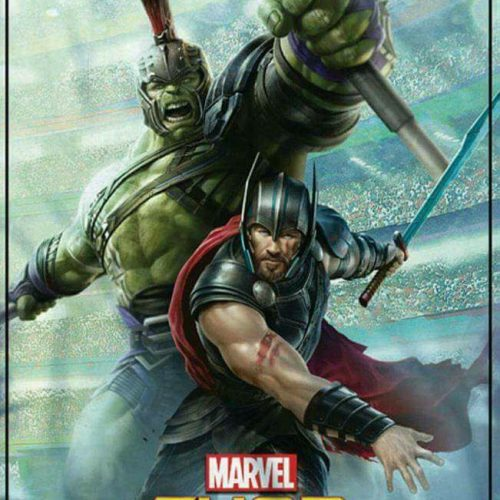 New Thor: Ragnarok merchandise art